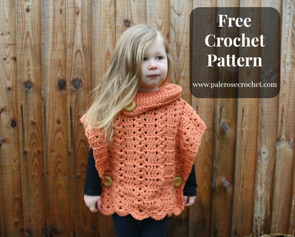 Crochet Patterns Galore Shell Toddler Pullover