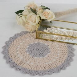 Scalloped Round Doily