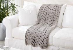 Ripples In The Sand Crochet Afghan