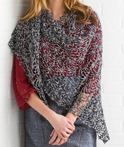 Crochet Patterns Galore Pineapple Lace Shawl