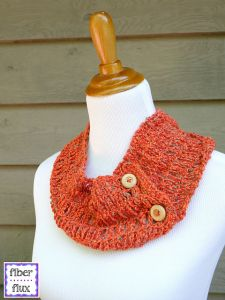 Tiger Lily Summer Cowl