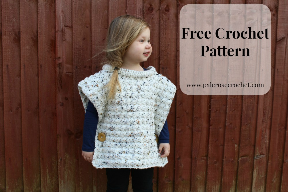 Crochet Patterns Galore Toddler Flecked Pullover