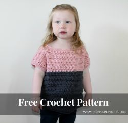 Toddler Two Tone Sweater