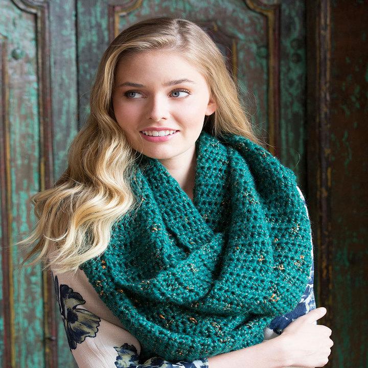 Crochet Patterns Galore Oversized Glam Cowl