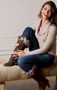 Ruffles-to-Crochet Boot Toppers