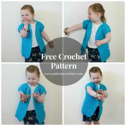 Oversized Toddler Vest