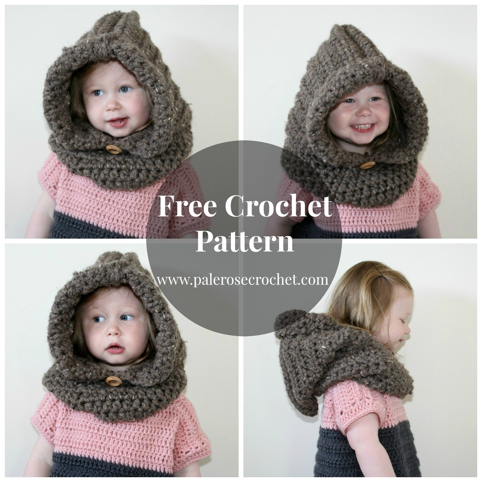 Crochet Patterns Galore - Toddler Hood