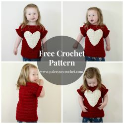 Toddler Heart Sweater
