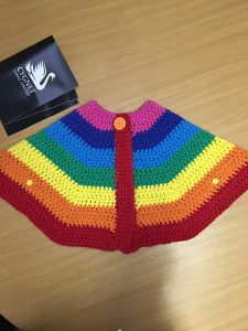 Whopper Rainbow Cape