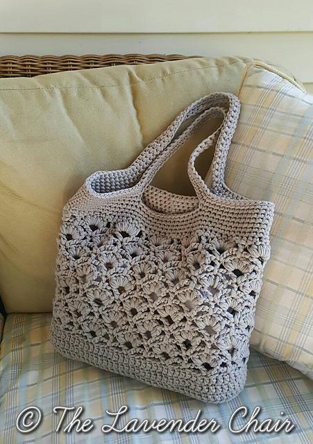 Crochet Patterns Galore Daisy Fields Market Tote