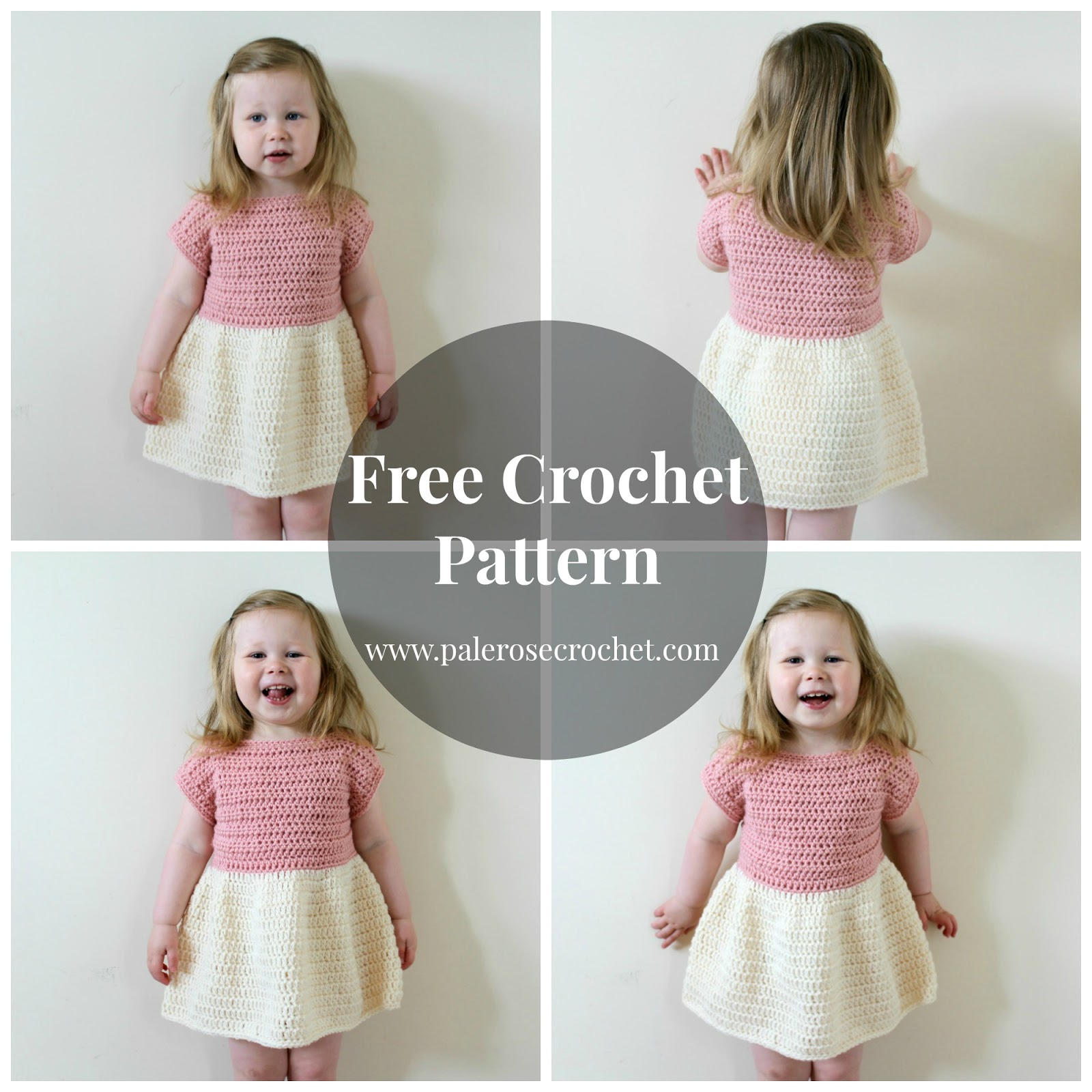 Crochet Patterns Galore - Toddler Party Dress