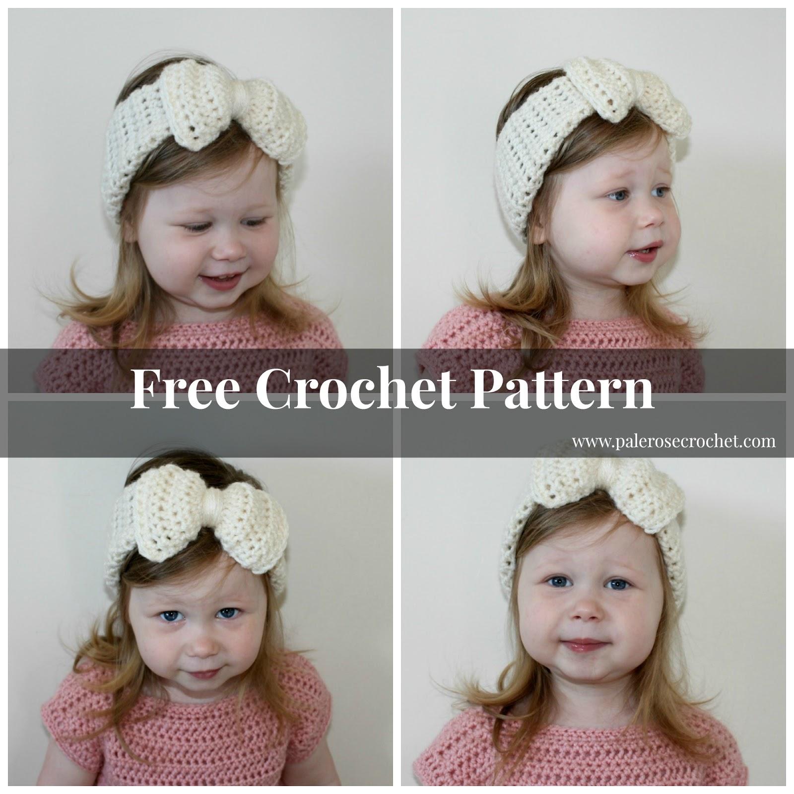 Crochet Pattern For Toddler Headband : Crochet Patterns Galore - Toddler Bow Headband