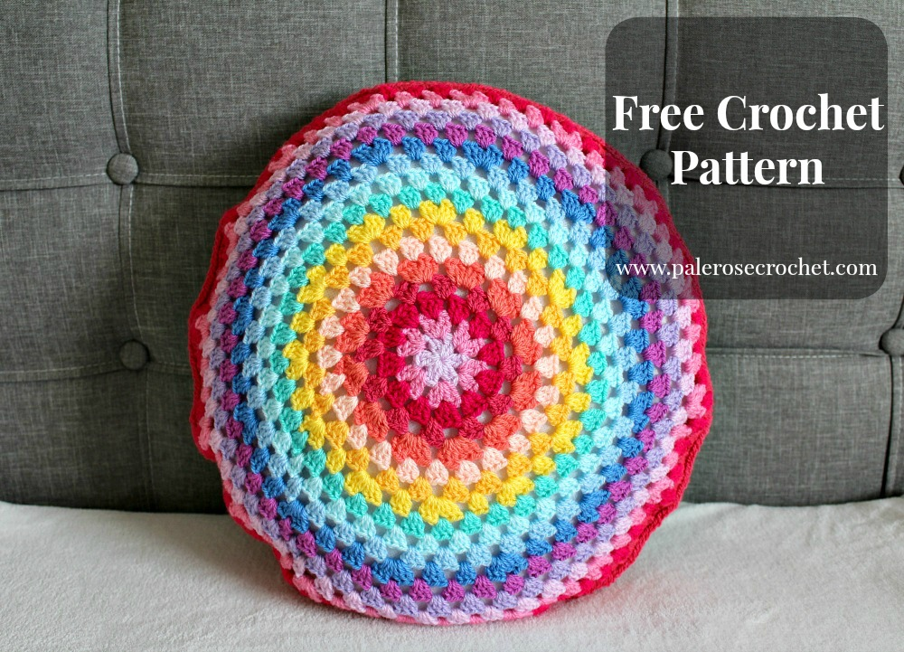 Crochet Patterns Galore Granny Circle Cushion