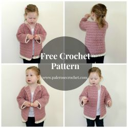 Frilly Toddler Cardigan