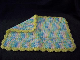Crochet Patterns Galore - Doll Blanket