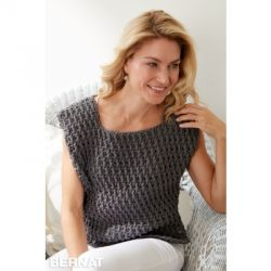 Long Dash Crochet Top