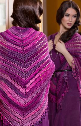 Crochet Patterns Galore Top Down Shawl