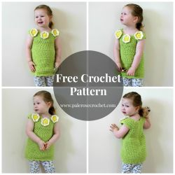 Toddler Flower Tunic Dress