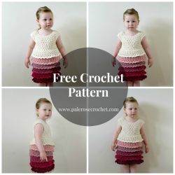 Toddler Layer Frill Dress