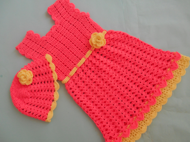 Crochet Patterns Galore Baby Frock