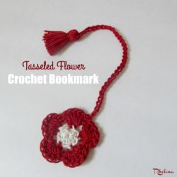 Tasseled Flower Bookmark