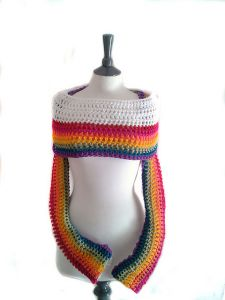 Rainbow Sleeve Scarf