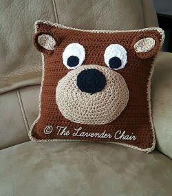 Crochet Patterns Galore Teddy Bear Pillow