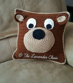 Teddy Bear Pillow