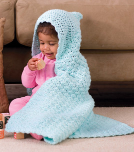 Crochet Patterns Galore Crochet Hooded Baby Blanket
