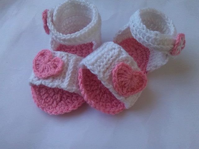 Crochet Patterns Galore Step By Step Baby Sandals