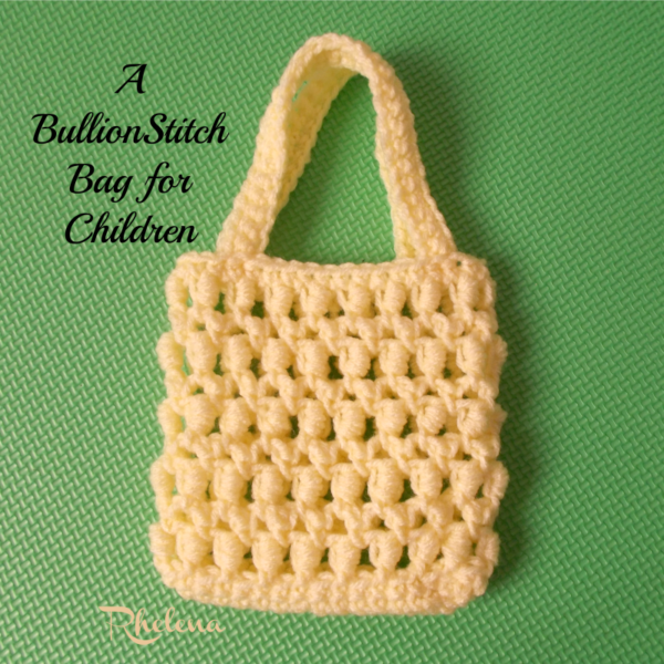 Crochet Patterns Galore A Bullion Stitch Bag For Children