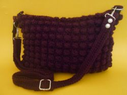 Bobble Stitch Purse
