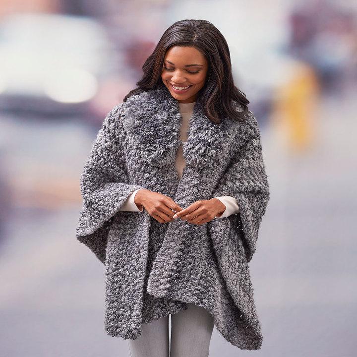 Crochet Patterns Galore Savvy Ruana
