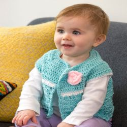 Sweet Abby's Baby Sweater