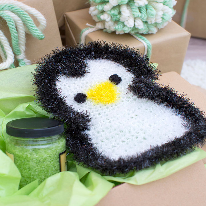 Crochet Patterns Galore Precious Penguin Scrubby