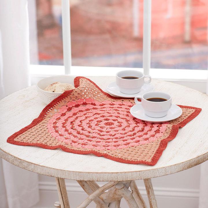 Crochet Patterns Galore Lotus Tile Doily
