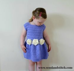 Flower Bridesmaid Dress