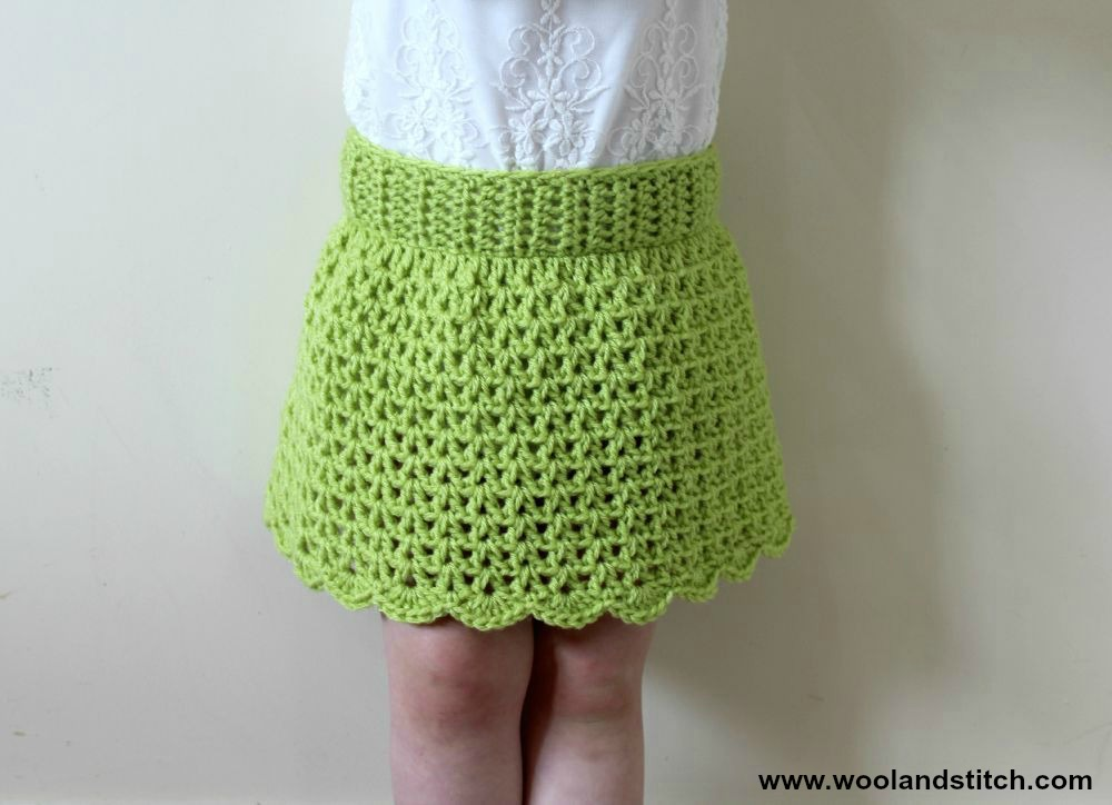 Crochet Patterns Galore - Mini Kids Summer Skirt