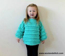 Mini Kids Bobble Sweater