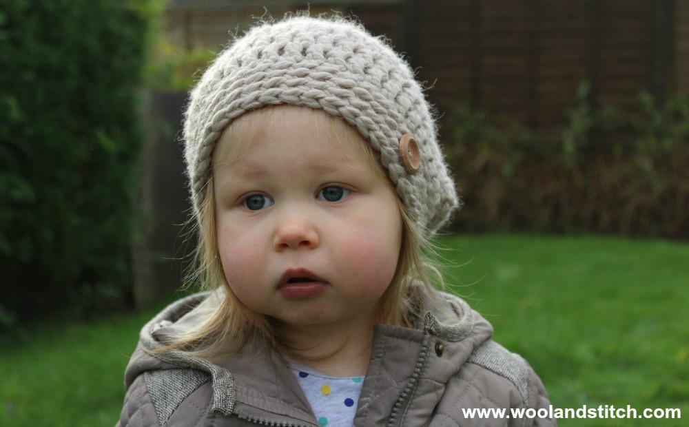 Crochet Patterns Galore Mini Kids Slouch Hat