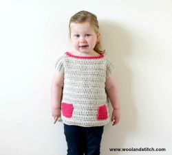 Mini Kids Pocket Top