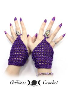 Belly Dancer Gloves