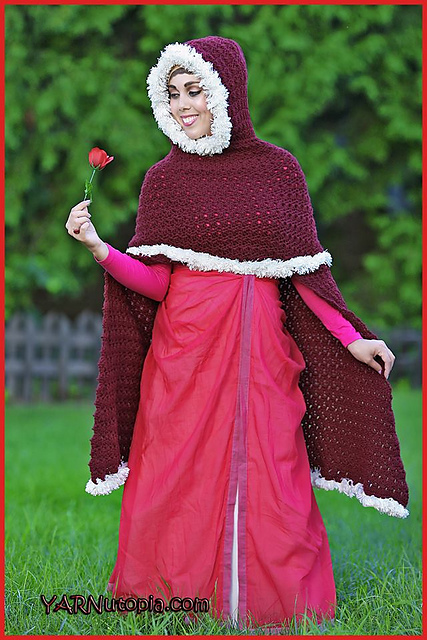 Crochet Patterns Galore Enchanted Rose Cape
