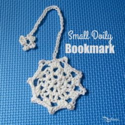 Small Doily Bookmark or Coaster
