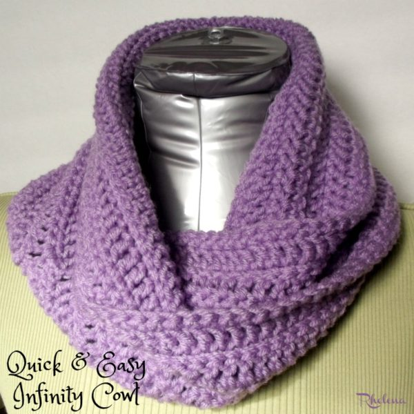 Crochet Patterns Galore Quick And Easy Cowl