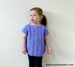 Mini Kids Sea Shells Top