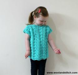 Mini Kids Bobble Waves Top