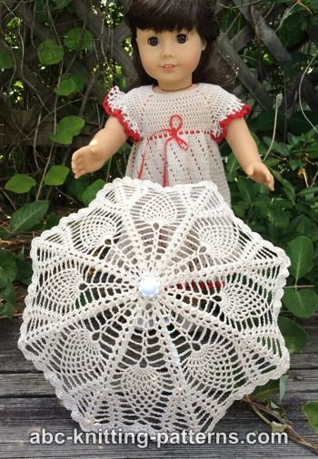 Crochet Patterns Galore American Girl Doll Parasol
