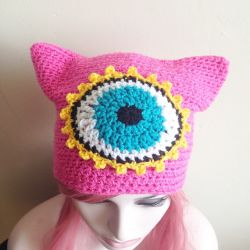 Third Eye Kitty Beanie