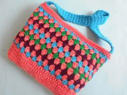 Easy Puffy Colorful Purse